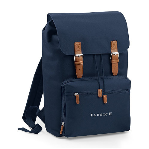 Fabrich Personalised Travel Backpack - Navy