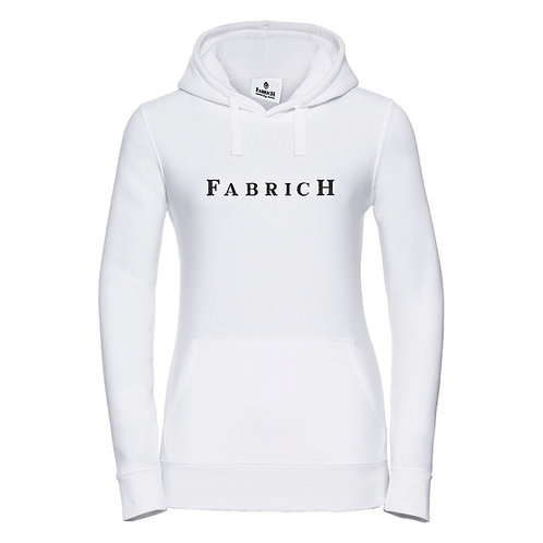 Fabrich White/Black Hoodie