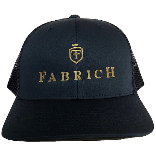 Fabrich 'Shield' Trucker Cap - Navy