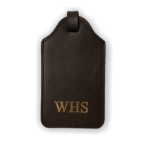 Fabrich Personalised Luggage Tag - Brown