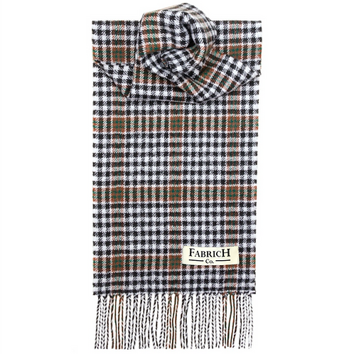 Fabrich Tartan Lambswool Scarf - Burns Check