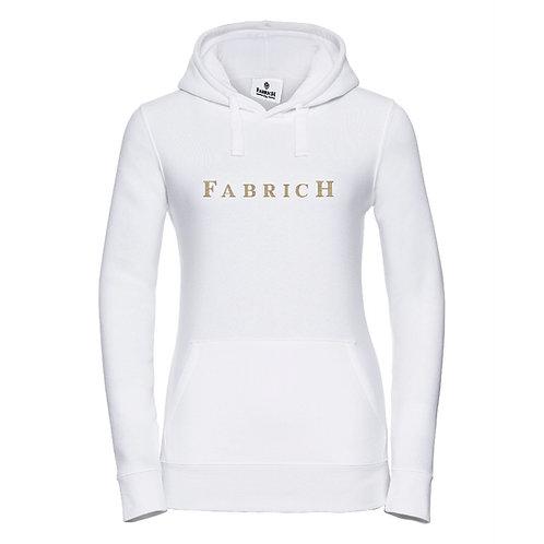 Fabrich White/Gold Hoodie
