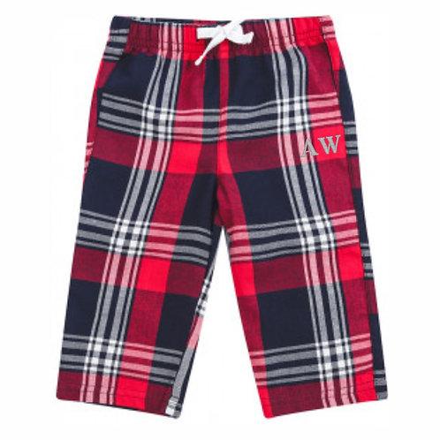 Baby/Toddler Personalised Tartan Lounge Pants