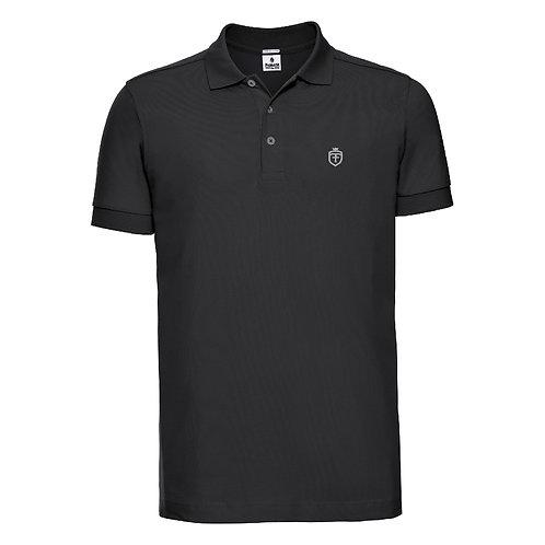 Fabrich 'Shield' Black Poloshirt
