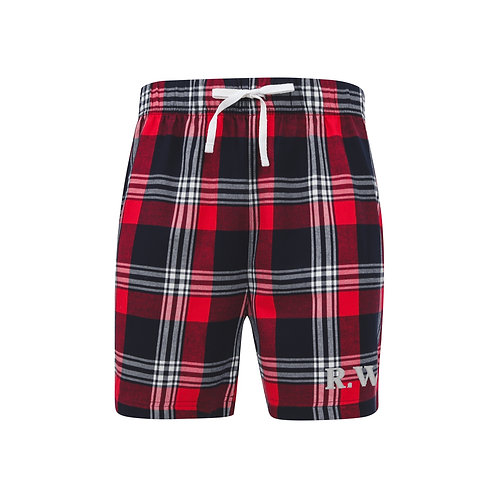 Personalised Tartan Lounge Shorts