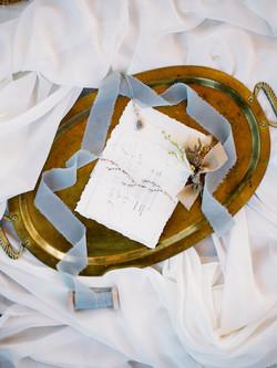 Devil's Thumb Ranch Wedding Invite