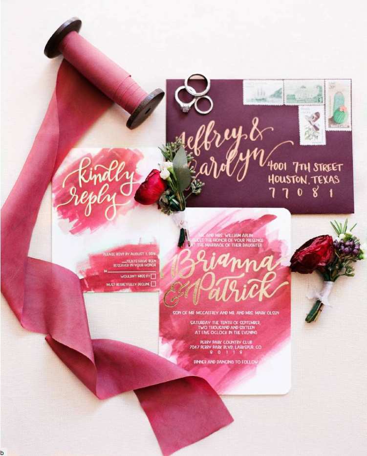 Curate Wedding Invitation