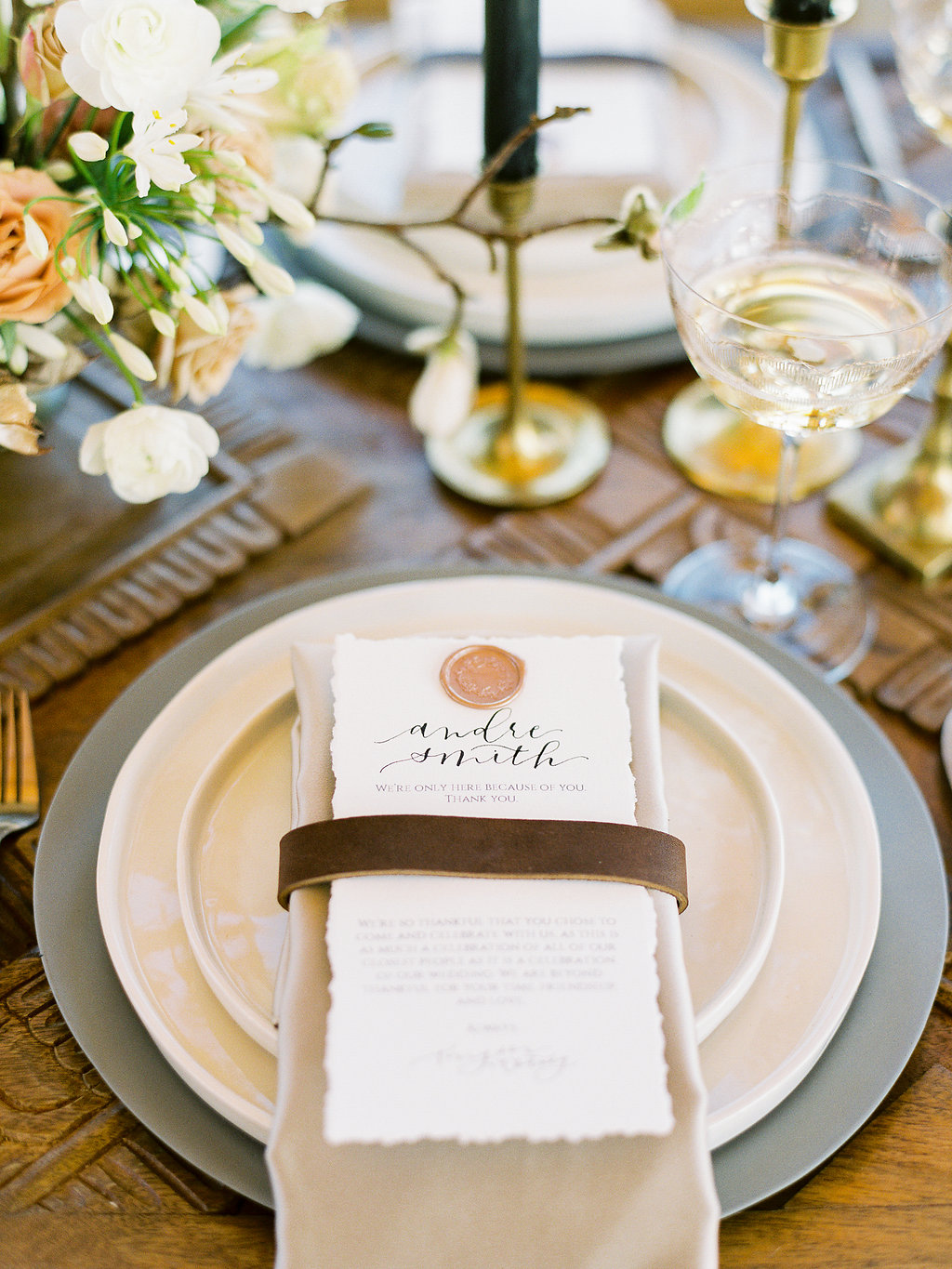 Devil's Thumb Ranch Wedding Menu