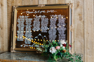 10 Ways to Incorporate Calligraphy Into Your Wedding Day
