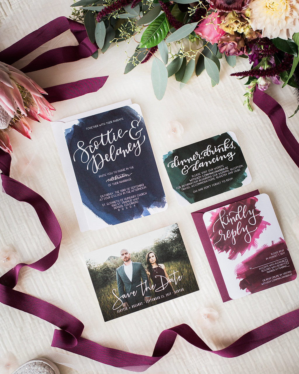 Curate Events + Design Calligraphy
