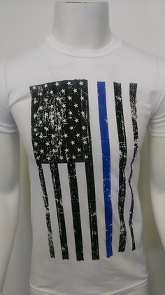 Thin Blue Line White