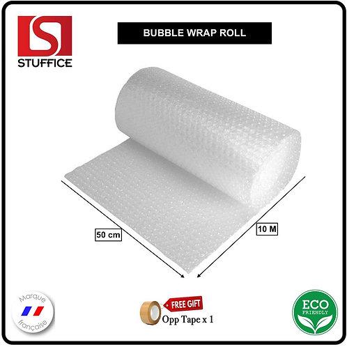 Rouleau de papier bulles 10 mètres x 50 centimètres