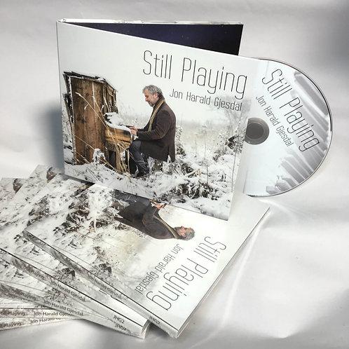 "CD ""Still Playing"", not signed. Ca. $16,50"