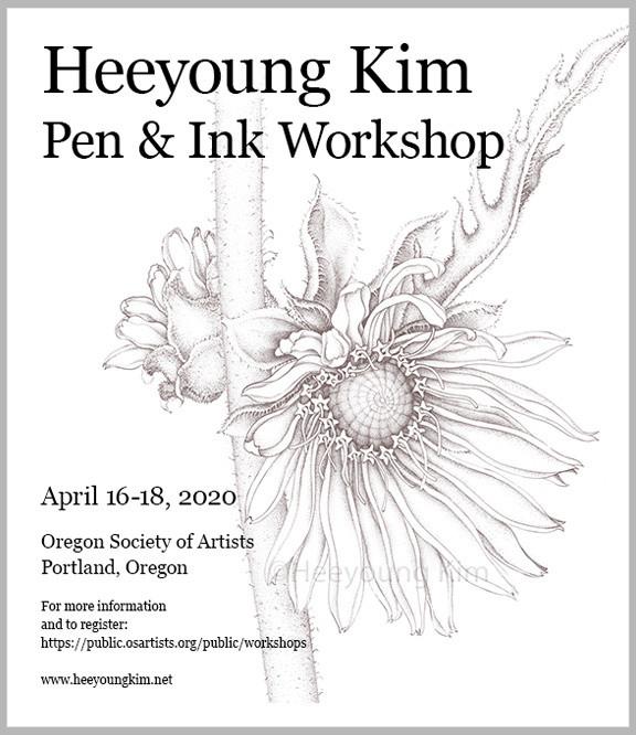 Heeyoung Kim Pen & Ink Workshop