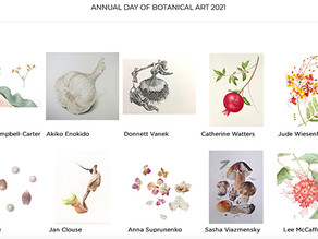 "BAGSC's ""Day of Botanical Art,"" 2021"