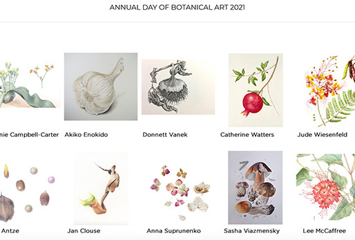 "BAGSC's ""Day of Botanical Art,"" 2021"