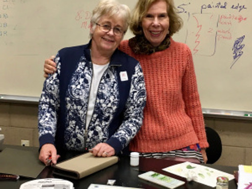 Lee McCaffree's BAGSC Class about Leaves at The Huntington