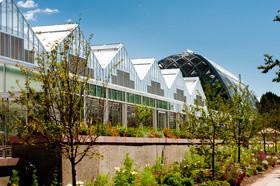 The Greenhouse Complex at the Denver Botanic Gardens. Photography © Scott Dressel-Martin