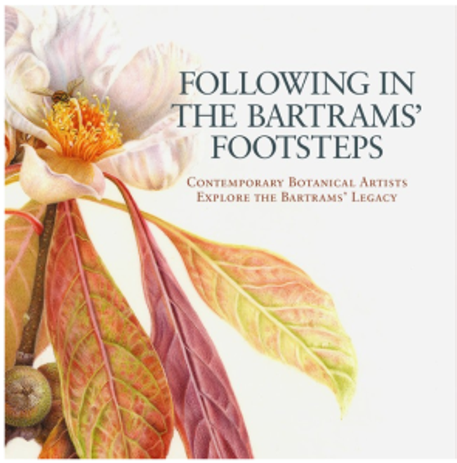 """Exhibition catalog cover, """"Following in the Bartrams' Footsteps"""""""