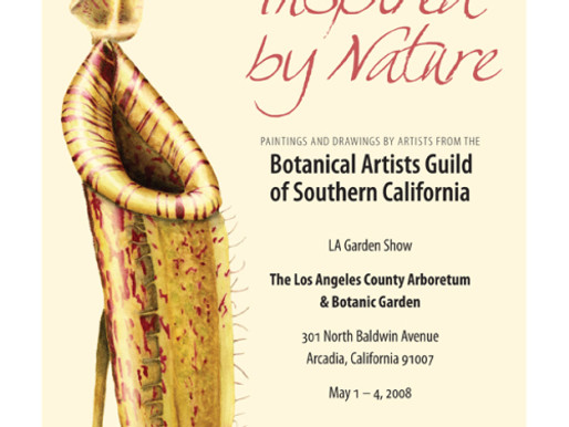 Come see the BAGSC Exhibit at the LA Garden Show, May 2 – 4, 2008