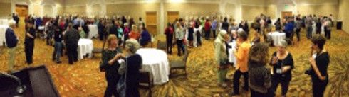 Live from the ASBA Conference: Opening Small Works Reception