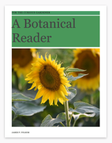 """Cover, """"A Botanical Reader for the Curious Gardener"""", James P. Folsom, © 2016, all rights reserved."""