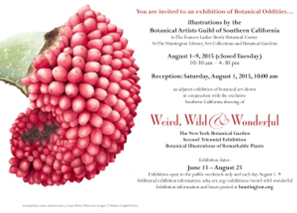 Invitation to BAGSC adjunct exhibition.