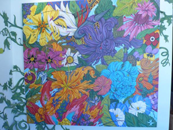 """Penelope Gottlieb, """"Flowers Gone WILD"""""""