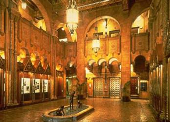 Interior of Fine Arts Building