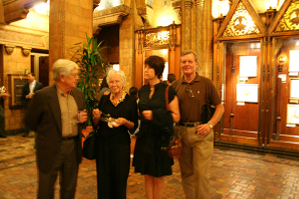 Left to right: John Keesey, Joan Keesey, Janice Sharp and Dane Hoiberg