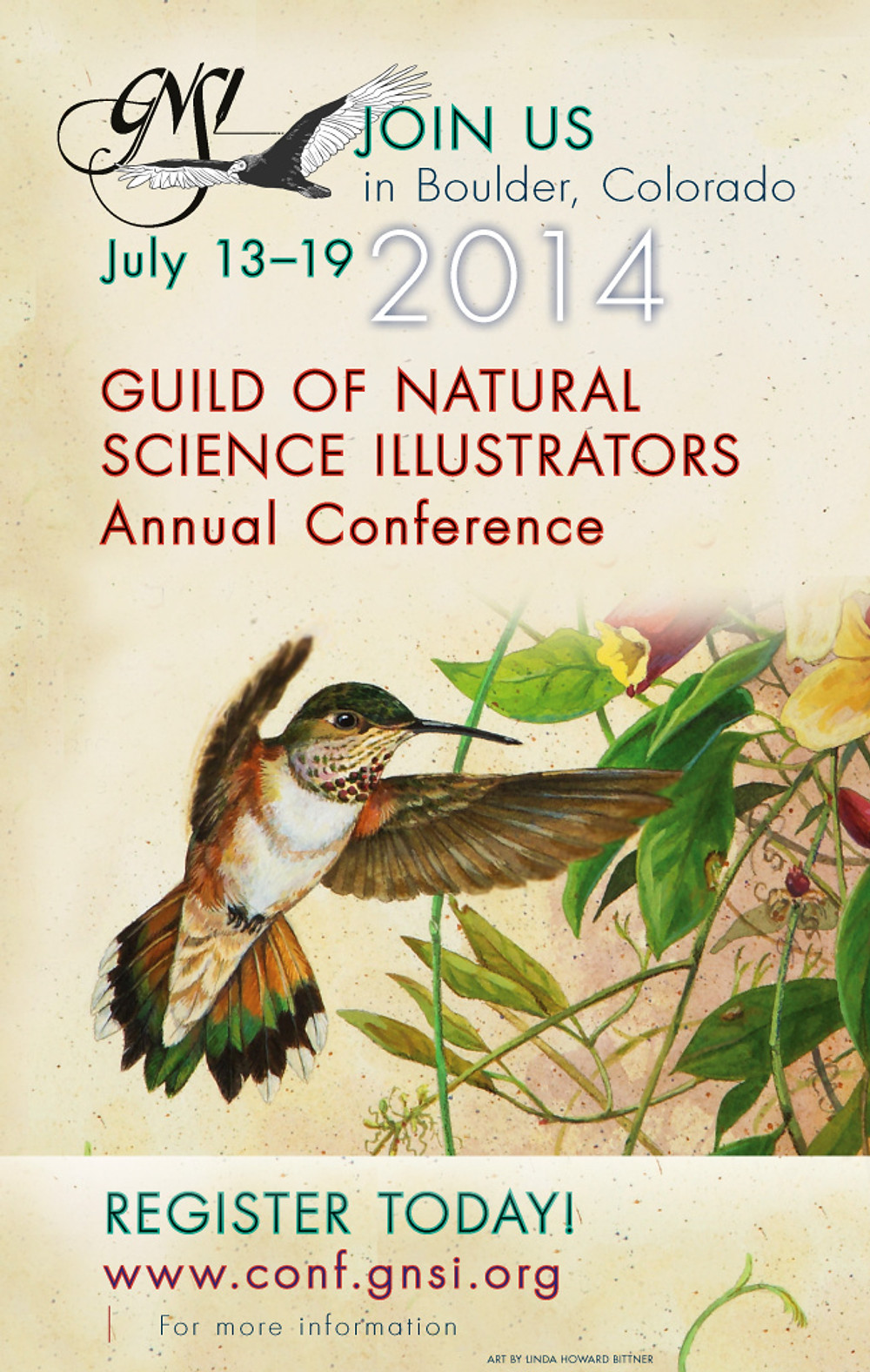 Poster for the GNSI 2014 Conference, © 2014, GNSI