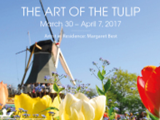 """Margaret Best to be Artist in Residence on """"The Art of the Tulip"""" River Tour"""