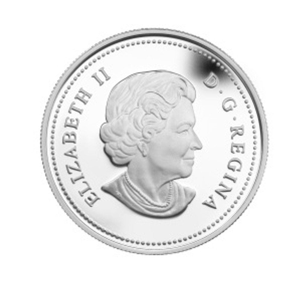 Back side of Wild Rose coin