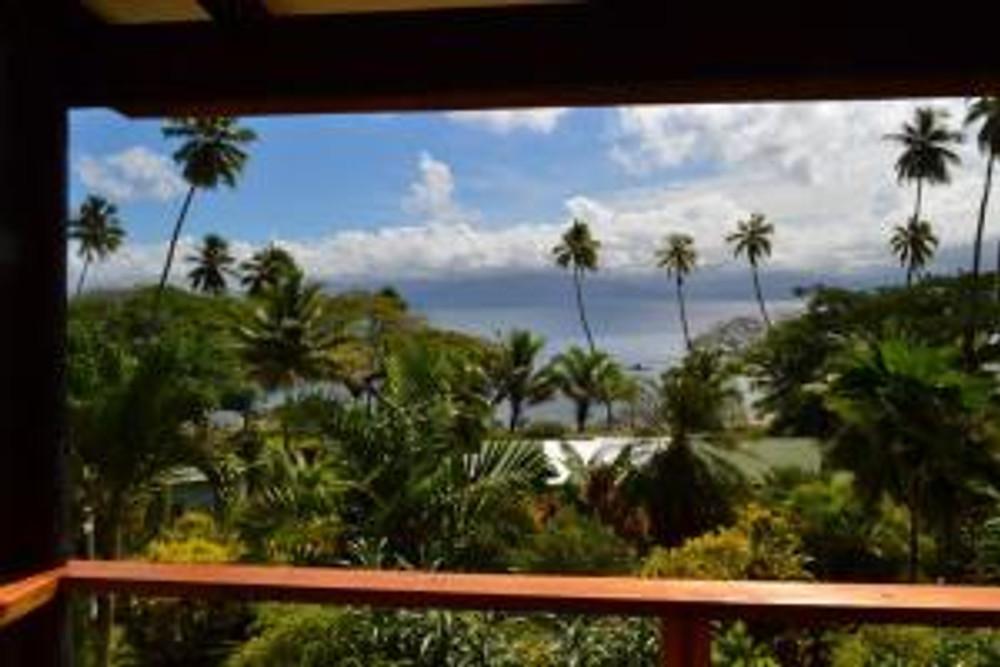 One view from the Daku Resort in Fiji.