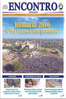 Capa do jornal da Igreja Católica