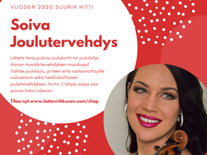 Soiva joulutervehdys l Personalised Christmas Music Video Message