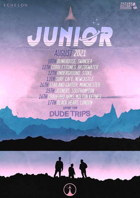 Junior Tour Dates August 2021