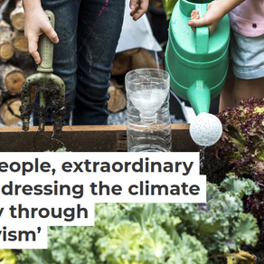 Ordinary People - Extraordinary Change: Addressing The Climate Emergency Through 'Quiet Activism'