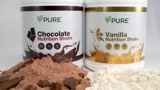 PURE Chocolate & Vanilla Shakes
