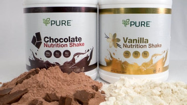 PURE Chocolate & Vanilla Shakes