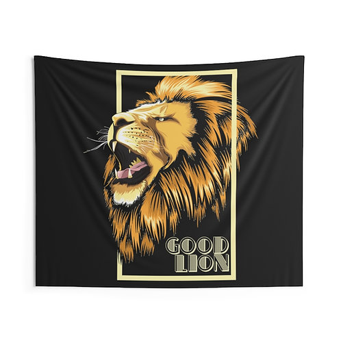 Indoor Wall Good Lion Tapestry