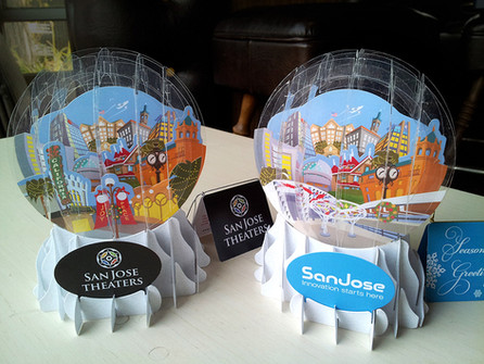 Team San Jose 3D Holiday Globe