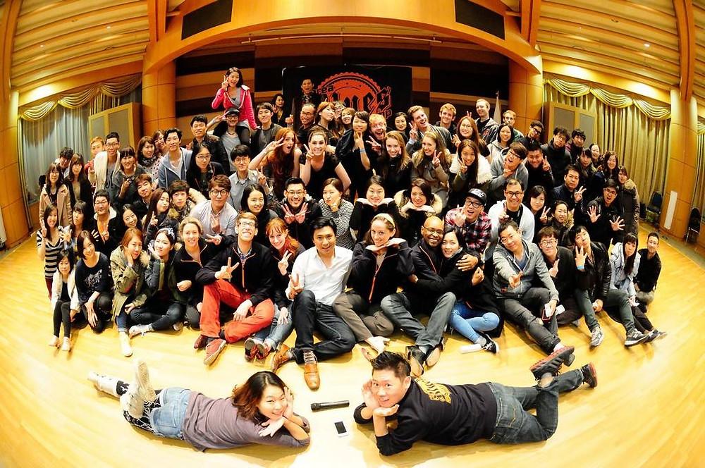 Korea Blues Camp 2014, Gyeonggi-do, South Korea