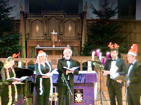 Our virtual musical Christmastide