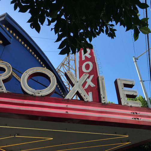 The Roxie in the day time is just as nice!