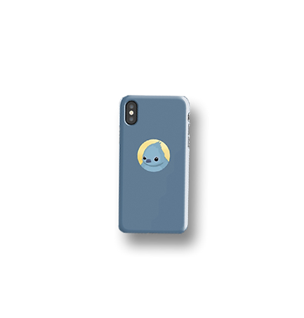 When Comes the Rain - Fat Bird phone case