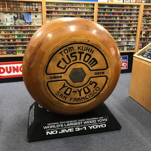 World's Largest Yo-Yo