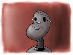 """Ongoing art project - """"Robot Picture Day"""" - 4/4"""