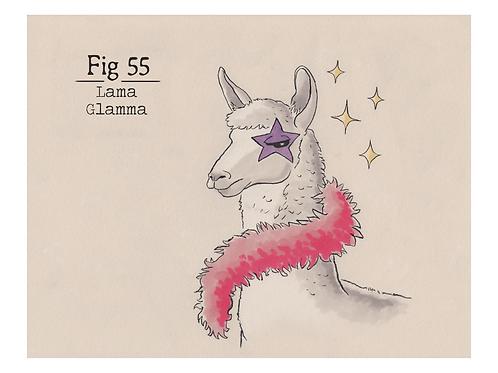 Fig. 55 Lama Glamma (Print)