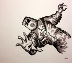 Random drawing from Inktober '15